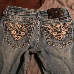 Miss me jeans size 25.